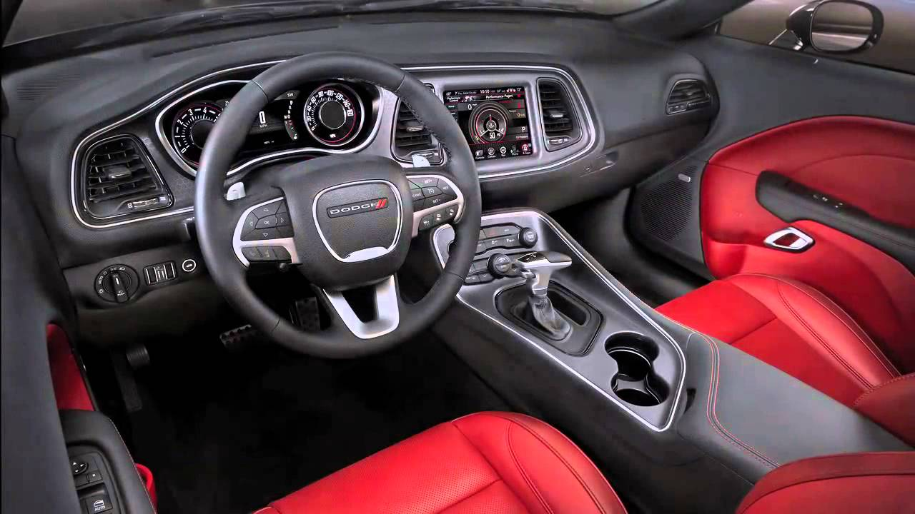 2015 Dodge Barracuda >> Dodge Challenger Interior Features - YouTube