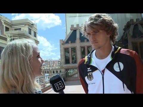 DAZN Postmatch Interview mit Alexander Zverev