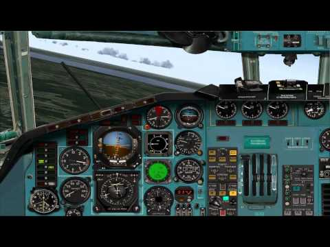 Project Tupolev Tu-154M Tutorial Start Circuit (pattern) And Landing FS2004