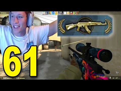 CS:GO - Part 61 - RANK UP TO MGII! (CounterStrike Full Game)
