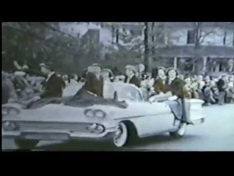 1957 Christmas Parade - Greensboro, NC - YouTube