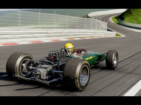 Project CARS(PC) - Lotus 49 Cosworth DFV Formula One, driving aids off@Nürburgring