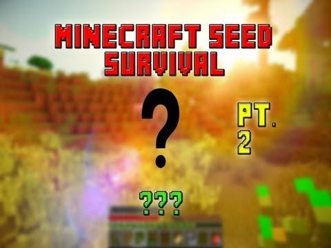 AN AMAZING IDEA! - Minecraft Seed Survival 2 - ??? (PART 2)