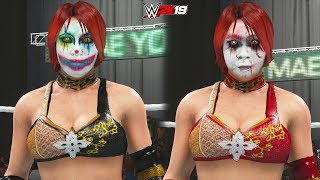WWE 2K19: Kana (Asuka Retro/Japan) Epic Face Paint Attires! (PC Mods)