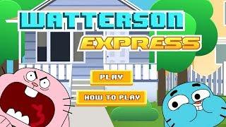 Gumball Şaşırtıcı Dünyası - Watterson Express [Cartoon Network Oyunları]