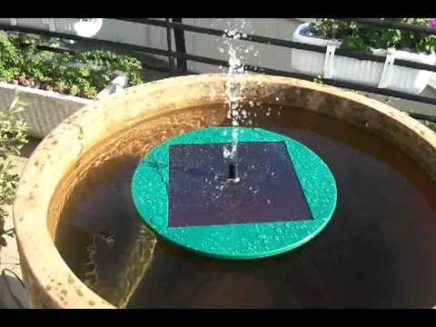 Fuente solar de jard n doovi - Fuente solar jardin ...