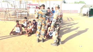1600 Meter Race Physical Test Indian Army Open Rally Bharti Live News