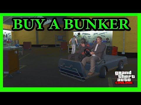 GTA 5 How To Buy A Bunker Online (Gunrunning DLC Update)