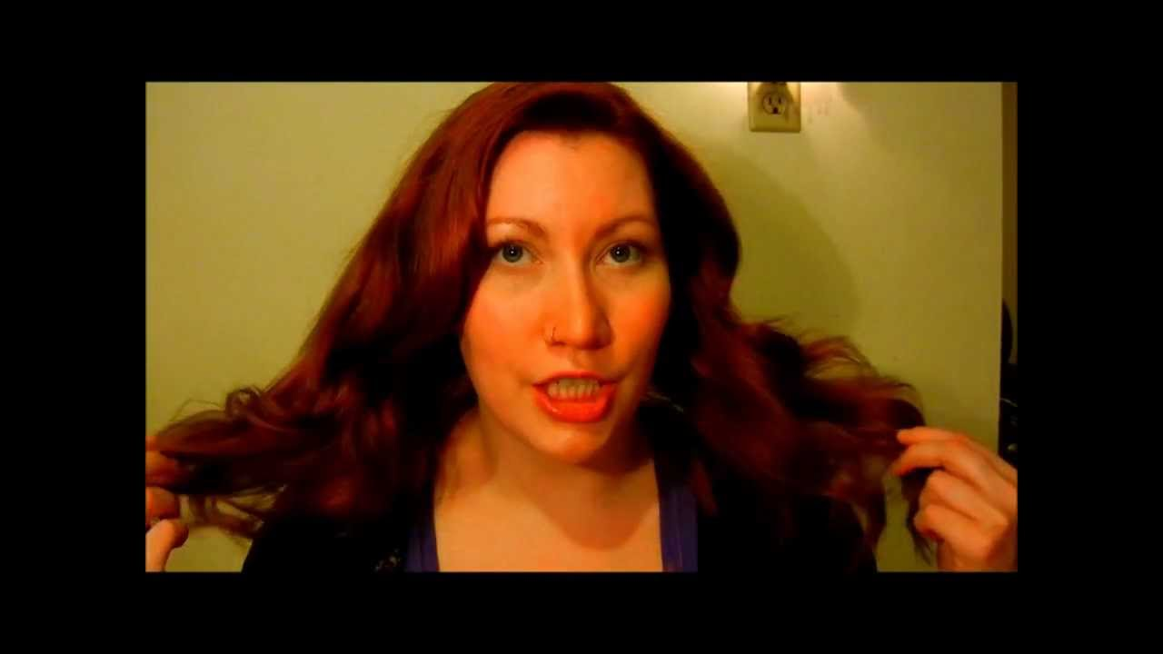 Review Precision Foam Color From John Frieda Im A Red Head Youtube