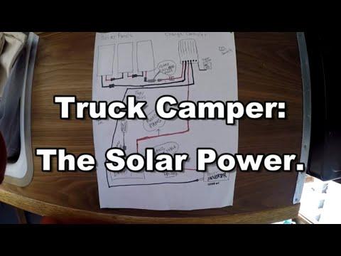 Solar Power in Refurbished 1965 Truck Camper