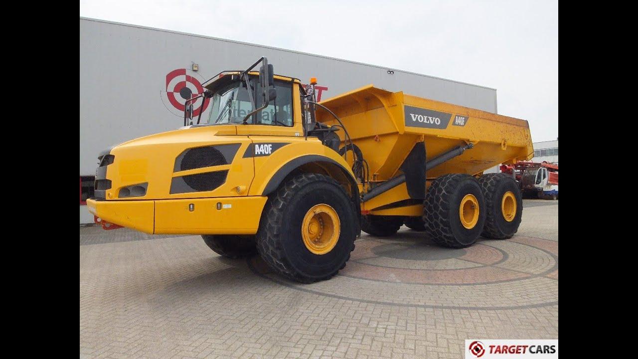 775325 volvo a40f 6x6 dumper articulated dump truck 69.8t 2011