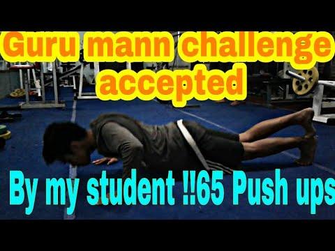 Guru challenge accepted & broken by my student @ Devraj Fitness Club Mullana