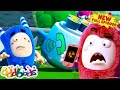 ODDBODS | A Day Without Phone Signal | NEW Full Episode | Cartoons For Kids