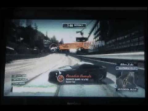 burnout paradise all billboards completed ps3 play3 youtube. Black Bedroom Furniture Sets. Home Design Ideas