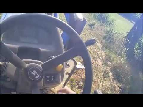 Ls Xr4040 Compact Tractor Overview Amp Brush Hogging Doovi