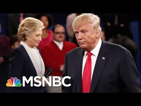 Donald Trump 'Needs A Miracle' At Final Presidential Debate | MSNBC
