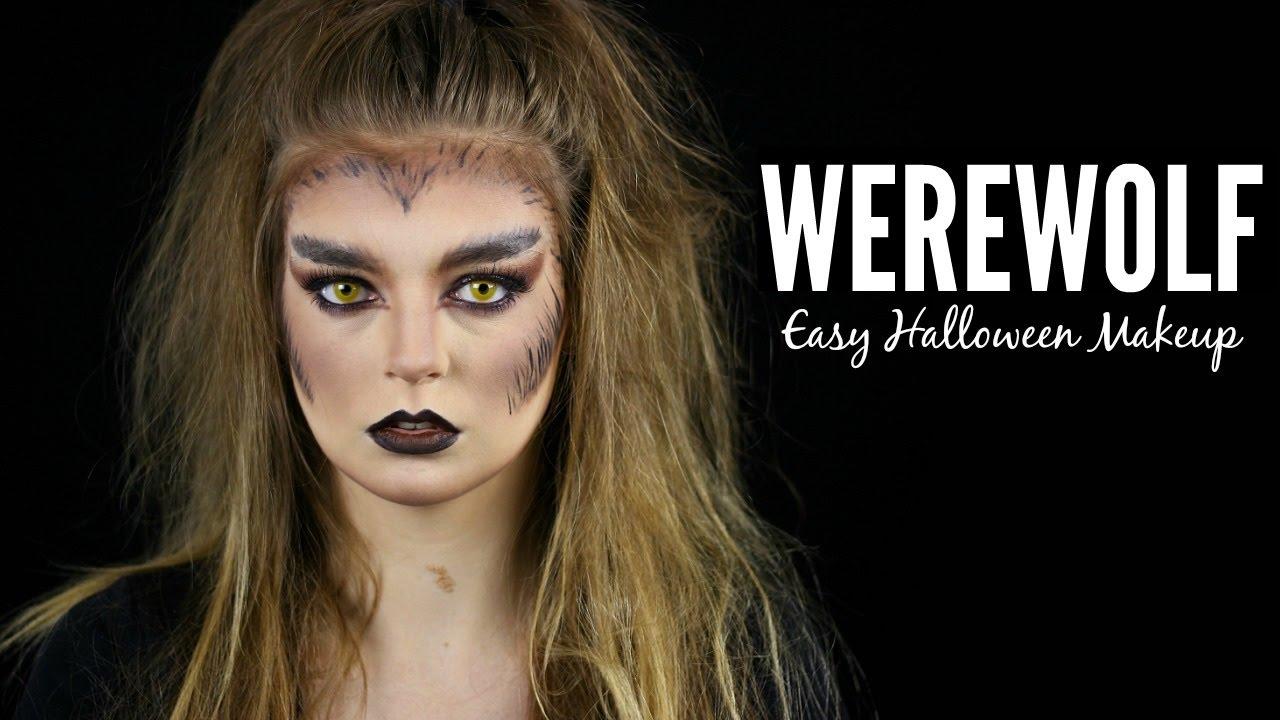 Easy werewolf makeup