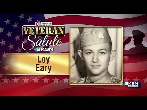 Veteran Salute: Loy Eary
