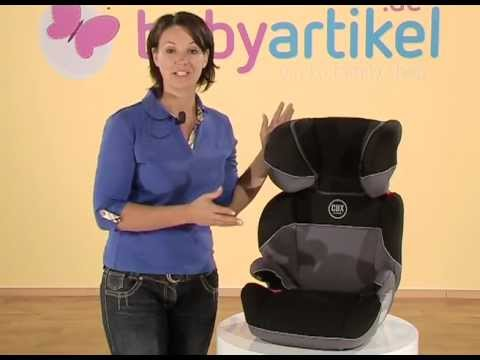 cybex solution kindersitz gr 2 3 youtube. Black Bedroom Furniture Sets. Home Design Ideas
