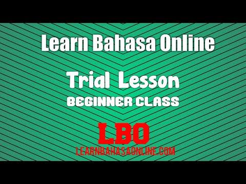 Learn Bahasa Online via Skype. インドネシア語オンラインレッスン。