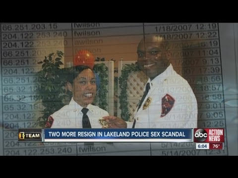 Two more Lakeland Police Officers officers out in wake of sex scandal -  YouTube 549985a26