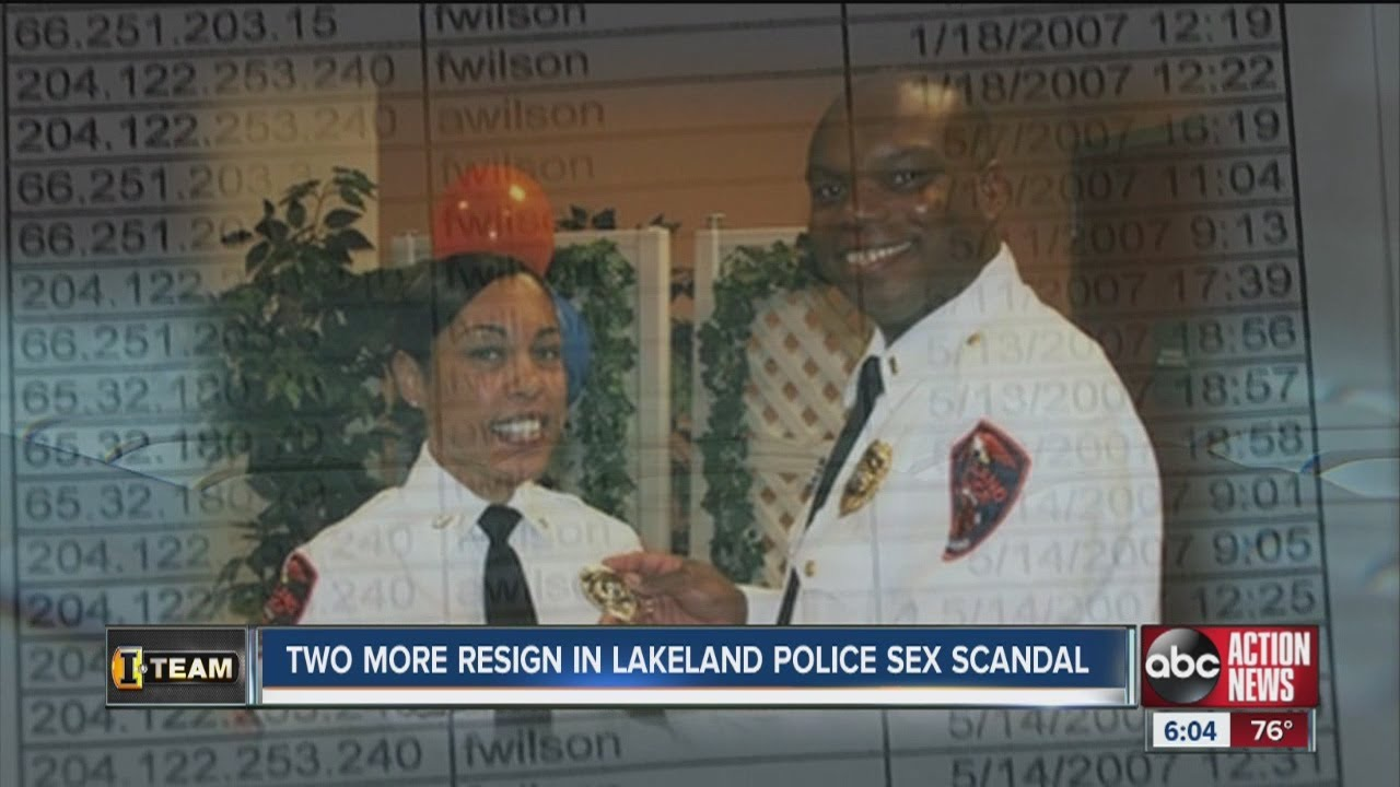 Two more Lakeland Police Officers officers out in wake of sex scandal