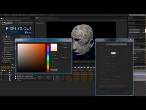 Export Position Pass and Normal Pass from Cinema 4D for Pixel Cloud