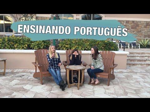 Ensinando portugues para as amigas - by Lala Land