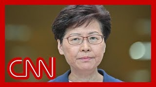 Hong Kong leader says China extradition bill 'is dead'