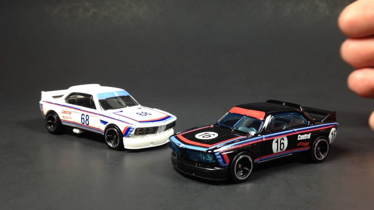Bmw Csl Race Car Hot Wheels Recolor Update Youtube