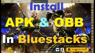 Download lagu How to install apk and obb file in Bluestacks 4