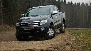 Большой пикап Ford Ranger XLT большой тест-драйв отзывы обзор Автопанорама