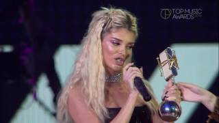 top music awards 2016 era istrefi fiton cmimin song of the year