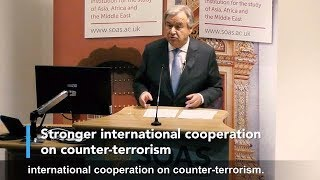 UN Secretary-General speaks on counter-terrorism and human rights thumbnail