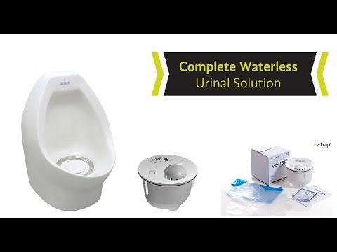 Waterless Urinal Maintenance Cartridge, EZ Trap KIt
