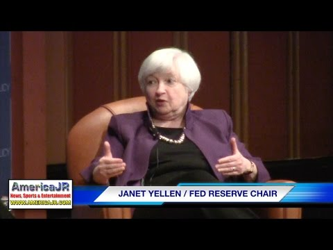Fed Chair Janet Yellen speaks at U of M Ann Arbor