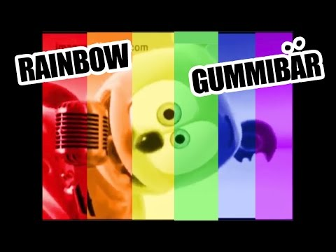 Gummibär RAINBOW 6 Gummy Bear Song Language Versions in 1 Video