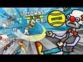 Clowns in the Face Walkthrough, Full Game - New Funny Games