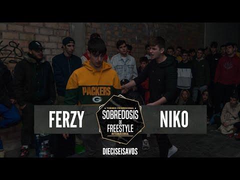 FERZY Vs NIKO - 16avos #SOBREDOSISDEFREESTYLE