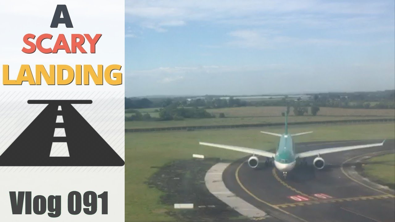 A SCARY plane landing - YouTube
