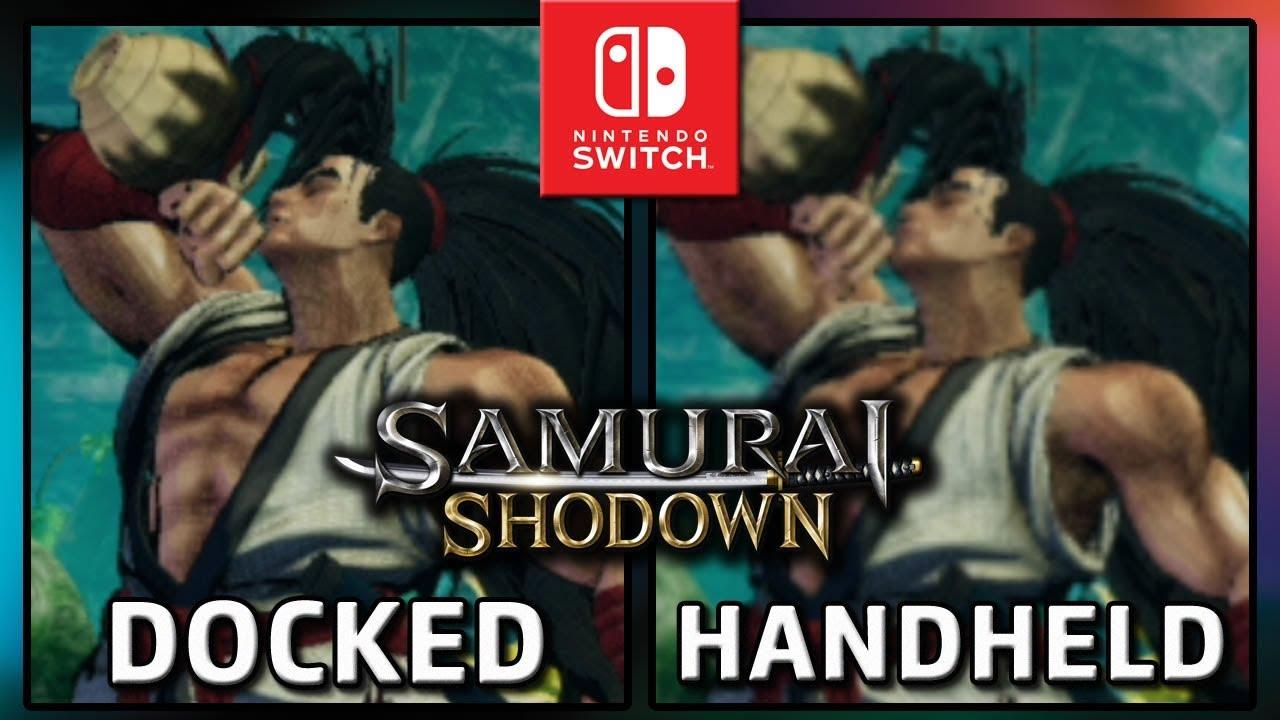 Samurai Shodown   Docked VS Handheld   Frame Rate TEST on Switch
