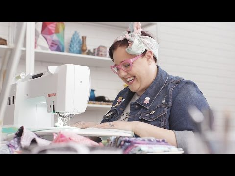 Quilter and fabric designer Tula Pink talks about her BERNINA