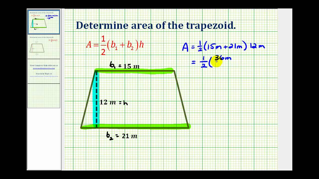 how to find the area of a trapezoid Since you know how to find the areas of rectangles and triangles, this reduces the problem to one you can do the technique for finding the equation for the range of a trapezoid is precisely the same we utilized for the triangles.
