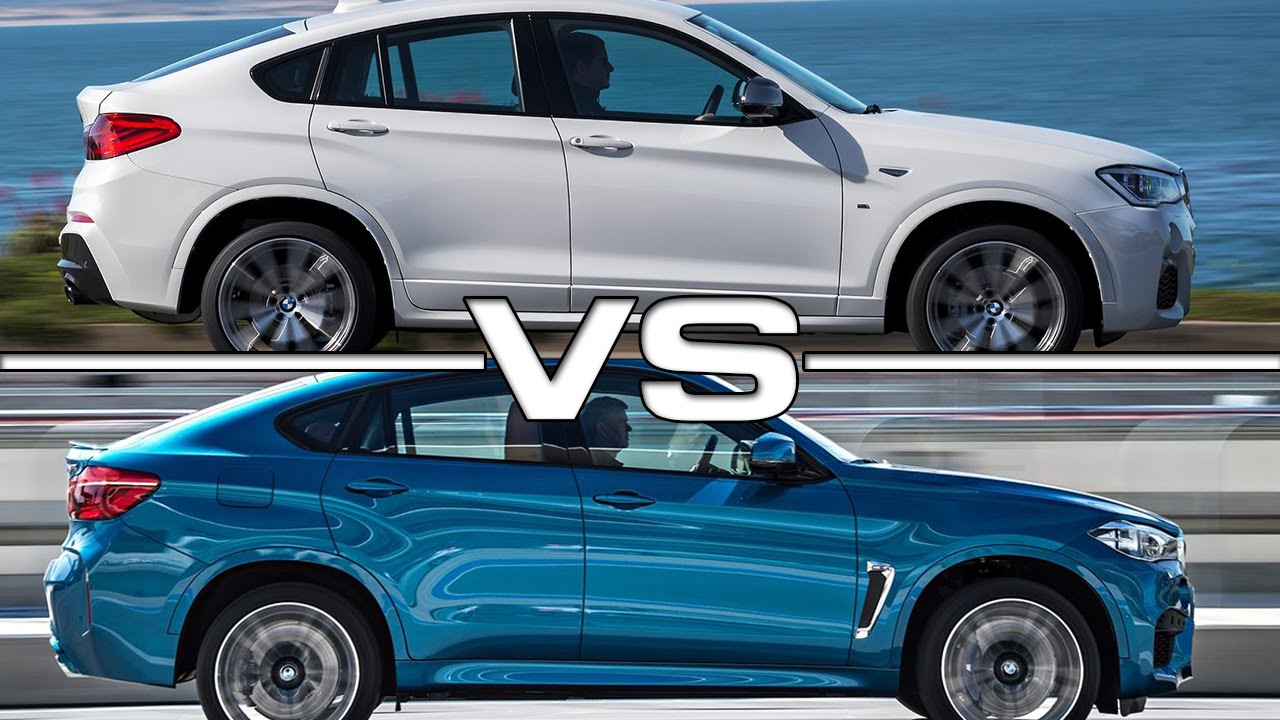 Bmw X4 M Vs Bmw X6 M Youtube