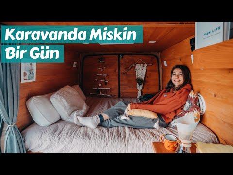 Karavanda Miskin Bir Gün - 2021 Planları, Özbek, Urla - Trail of Us Van Life