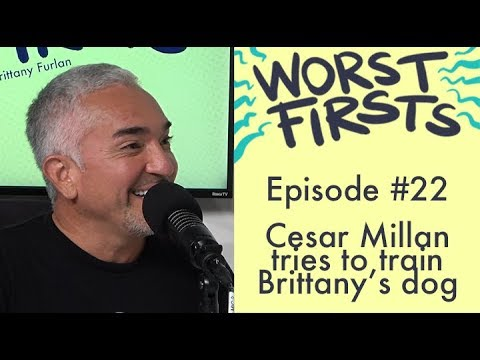 Download Cesar Milan (The Dog Whisperer) Tries to Fix Brittany's Dog   Brittany Furlan Worst Firsts