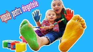 Melissa VOPSESTE mainele si PICIOARELE mamicai   Vopsele pentru Degetele