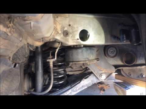 Mercedes C32 AMG Project Build - Part 5 - Broken & Ripped Out Subframe Bolts Repair