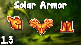 Terraria  1.3 - Solar Armor , Fiery Melee! - Terraria 1.3 Guide New Melee Armor Set