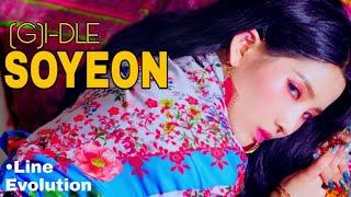 (G)I-DLE - SOYEON | •Line Evolution